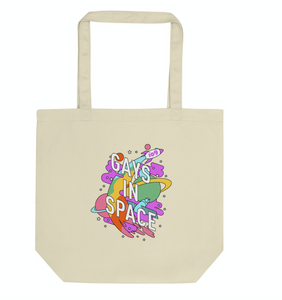 io9 Gays In Space Eco Tote Bag