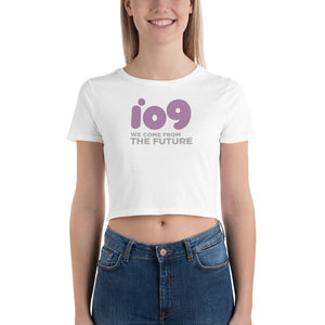 """io9 Welcome From The Future"" Crop Tee"