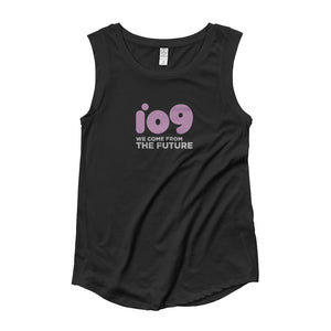 """io9 We Come From The Future"" Cap Sleeve T-Shirt"