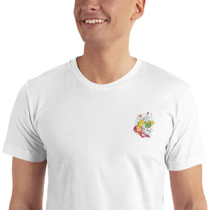 Gays In Space Embroidered T-Shirt