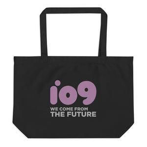"""io9 We Come From The Future"" Large Tote Bag"