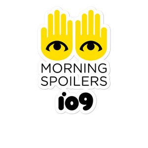 """Morning Spoilers"" Stickers"