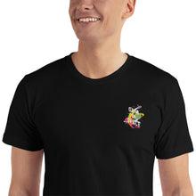 Load image into Gallery viewer, Gays In Space Embroidered T-Shirt