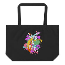 Load image into Gallery viewer, Gays In Space Large Tote Bag