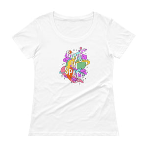 Gays In Space Scoopneck T-Shirt