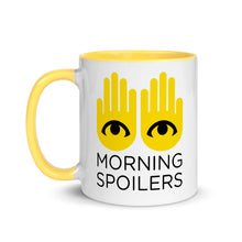 "Load image into Gallery viewer, io9 ""Morning Spoilers"" Coffee Mug"