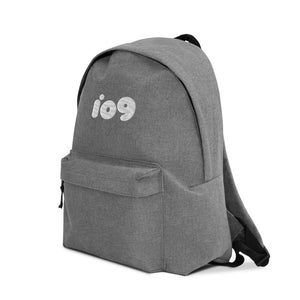 io9 Logo Embroidered Backpack