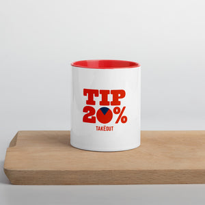 """Tip 20%"" Coffee Mug"