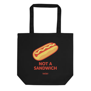 """Not a Sandwich"" Eco-Friendly Tote Bag"