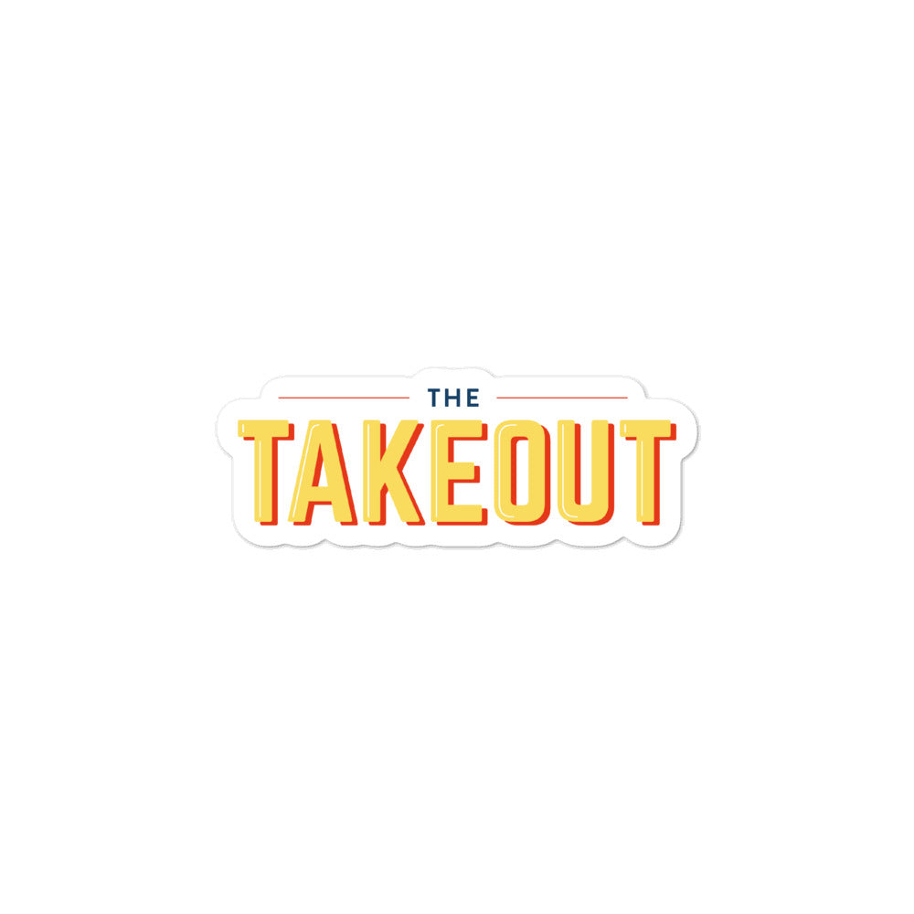 The Takeout Logo Stickers