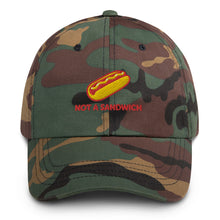 "Load image into Gallery viewer, 'Not a Sandwich"" Baseball Cap"