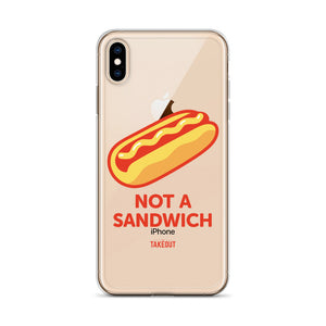 """Not a Sandwich"" iPhone Case"