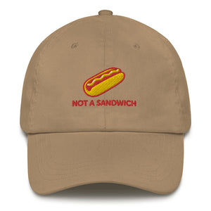 "'Not a Sandwich"" Baseball Cap"