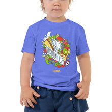 "Load image into Gallery viewer, ""Food is Delicious"" Toddler T-Shirt"