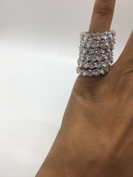 Royalty Ring - White Diamond