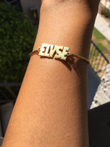 Shine Name Bracelet - The Glam Goddess Shop