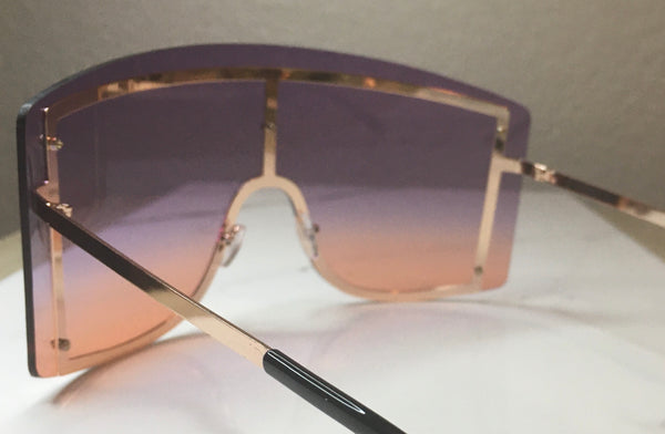 FIYAH Shades- Purple/Orange