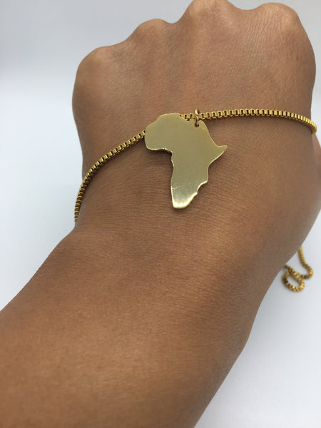 Africa Necklace - The Glam Goddess Shop