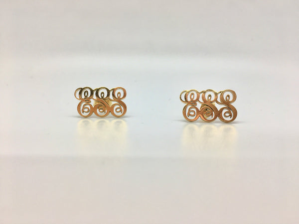 Custom Monogram Earrings