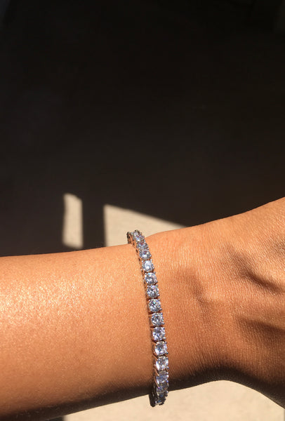 Tennis Bracelet - White Diamond