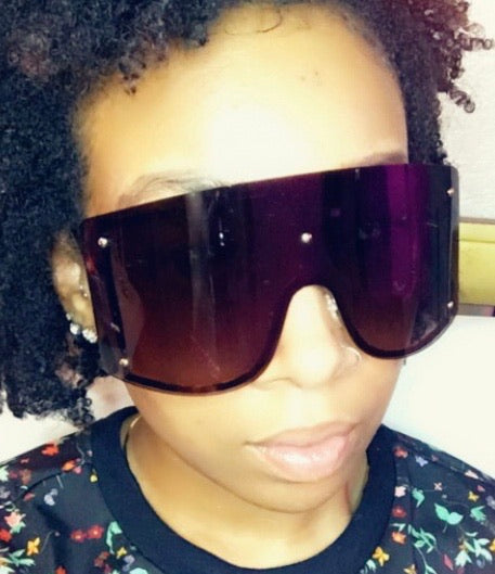 FIYAH Shades- Black - The Glam Goddess Shop