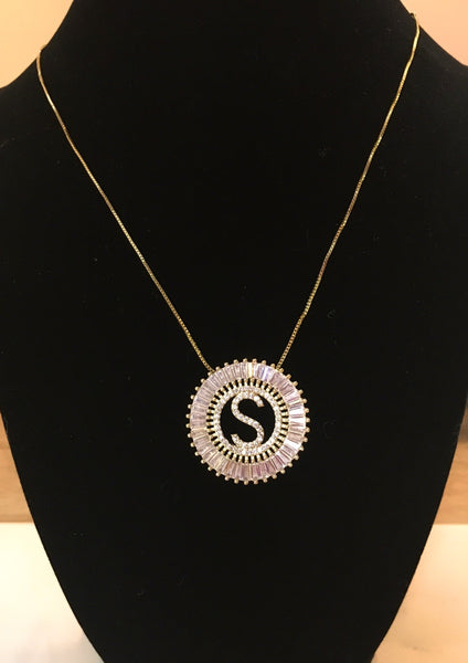 Glam Initials Necklace