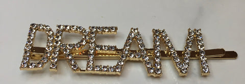 DREAM Hair Pin - Gold