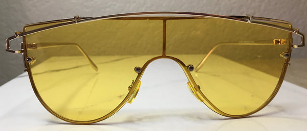 Swerve Shades - Yellow - The Glam Goddess Shop