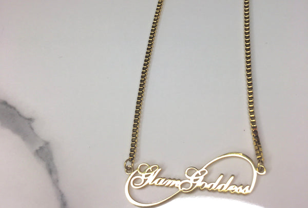 Eternal Infinity Necklace - The Glam Goddess Shop
