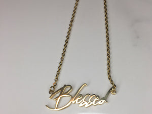 Bless Up Necklace - The Glam Goddess Shop