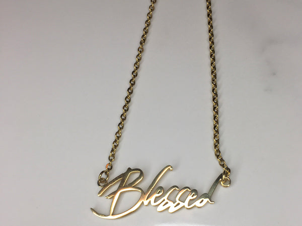 Bless Up Necklace