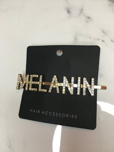 MELANIN Hair Pin - Gold