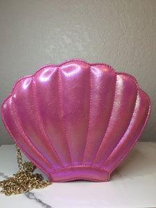 Seashell Crossbody Bag - Fuchsia