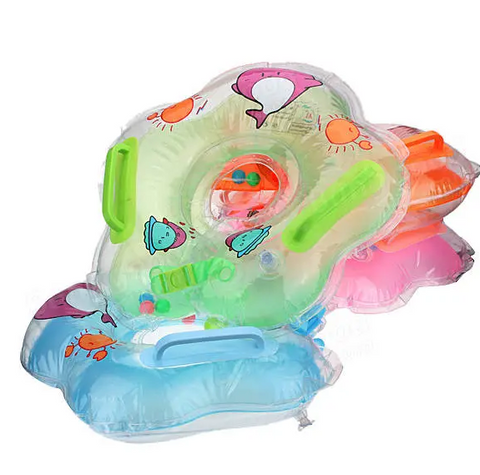 """alt="""" High quality Materials Used and Safe product  from BabyBoo Inflatable Neck Float Ring for Baby Infant Swimming with Handles"""""""