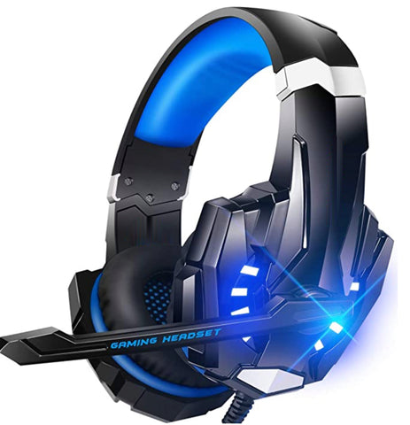 """alt=""""The Blue RhythmAir™ Stereo Gaming Headset with Mic Noise Cancellation"""""""