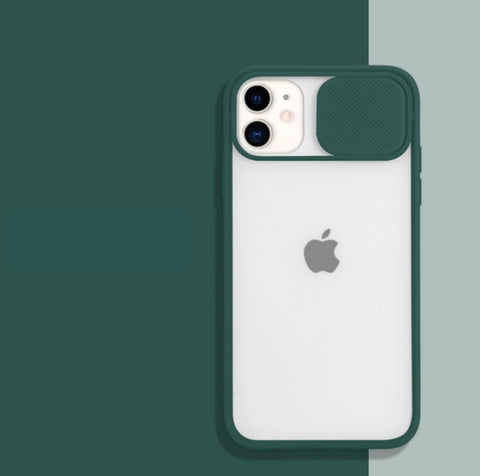 """alt=""""Dark Green PastelO TPU Case with Lens Protection for iPhone 6 6S Plus 7 8 X XS Max XR 11 Pro SE 12 Mini"""""""