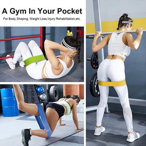 """alt=""""StretchUp™ Resistance Band Set for Workout Training Exercise"""""""