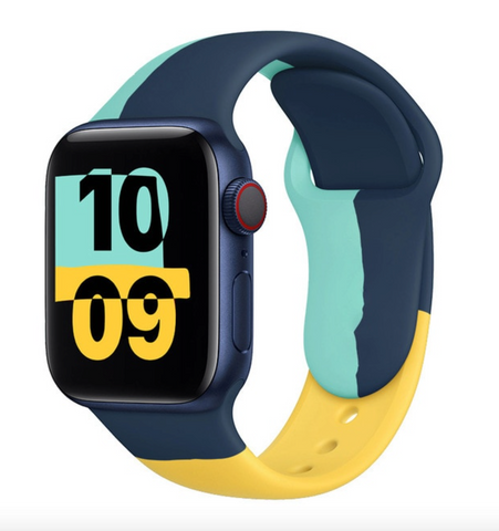 """alt=""""The UnD Unity Accessories Silicone Watch Band for Apple Series 6 SE 5 4 3 2 1"""""""