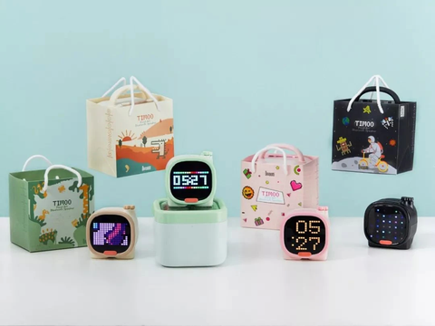 """alt="""" Multi functional Bluetooth speaker with Display feature LED Alarm Clock with Bluetooth Speaker Internet Radio SD Card Support & Sleep Aid for Kids"""""""