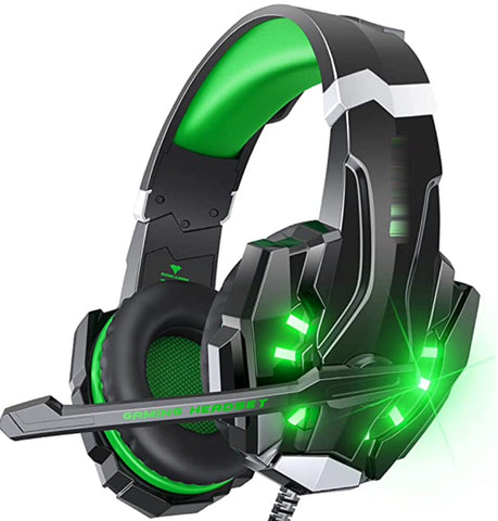 """alt=""""RhythmAir™ Stereo Gaming Headset with Mic Noise Cancellation"""""""