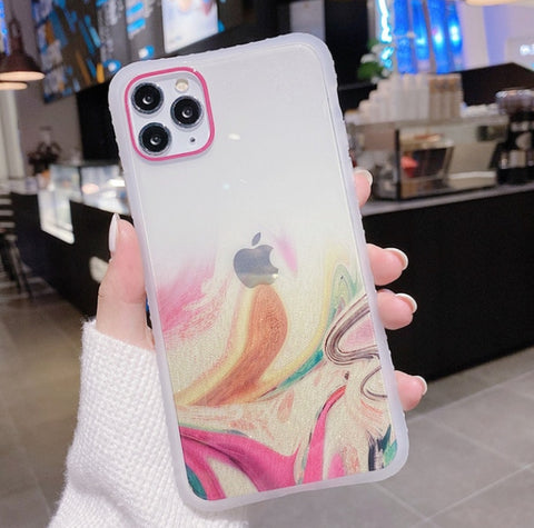 """alt=""""Rainbow Mountains Earthues Soft TPU Case for iPhone 6 6S Plus 7 8 X XS XR Max 11 Pro SE 2020"""""""