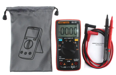 """alt=""""Aneng RMS Wave Output Digital Multimeter 9999 Counts AC DC Current With Backlight"""""""