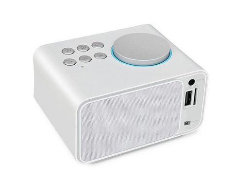 """alt=""""Bluetooth Speaker with TF Card Support & USB Charging in TimeZZ LCD Alarm Clock"""""""