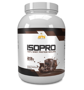ISOPRO 100% Whey Protein Isolate - Double Chocolate