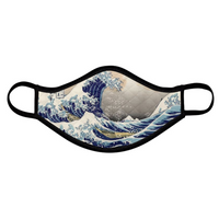 The Great Wave Off Kanagawa Face Mask - Shift Royal