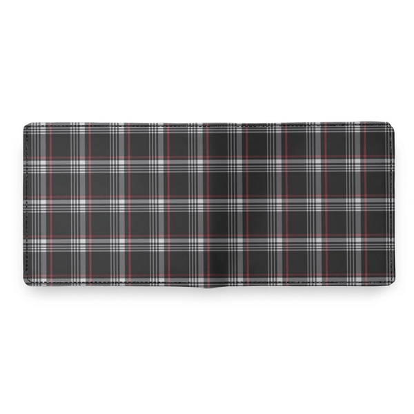 Clark Plaid Leather Wallet - Shift Royal