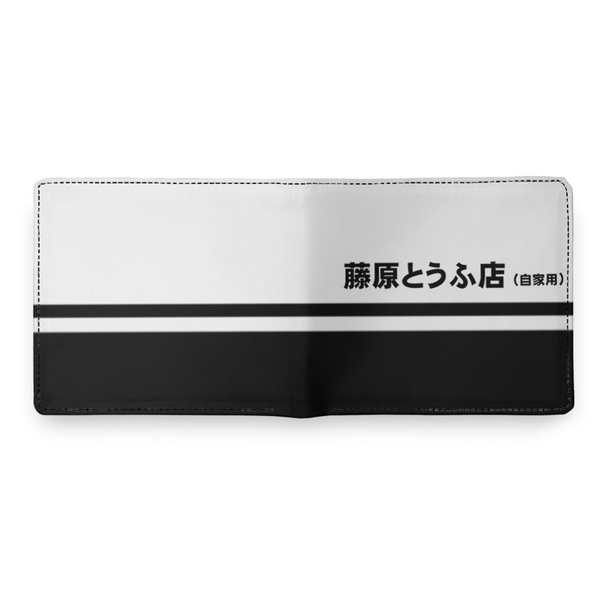 Fujiwara Tofu Shop Leather Wallet - Shift Royal