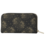 Koi Fish Patterned Long Wallet - Shift Royal