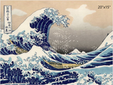 The Great Wave Off Kanagawa Door Panel Trims - Shift Royal