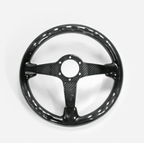 Full Gloss Carbon Fiber Steering Wheel - Shift Royal